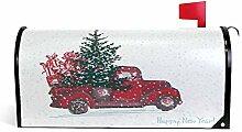 Wamika Weihnachtlicher roter Truck, Autobaum,