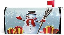 Wamika Weihnachtlicher Schneemann-Besen Geschenke,