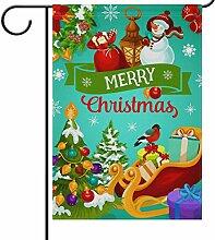 Wamika Weihnachtsbaum Schneeflocke Ball Seasonal