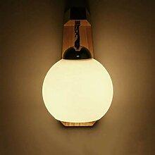 Wand 5W Holz Wandlampe Led Creative Aisle