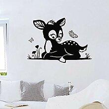 Wand Aufkleber Baby Fawn Wandaufkleber Cartoon