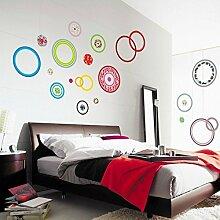 Wand Aufkleber Dots | leicht zu schälen einfach