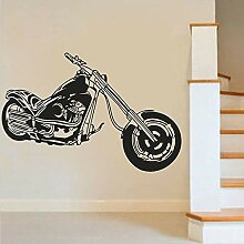 Wand Aufkleber Motorrad Wandkunst Aufkleber