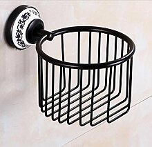 Wand Befestigter Bad-Accessoires Toilettenpapierrollenhalter Handtuchkorb
