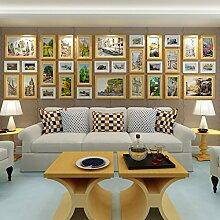 Wand-Bilderrahmen, Große Bilderrahmen Kombination