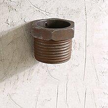 Wand blumen töpfe industrie wind retro pflanzen-A