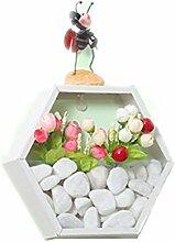 Wand-Blumentopf, NHsunray Wandvasen, Pflanzentopf,
