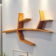 Wand-Bücherregal, einfache schwimmende Regal