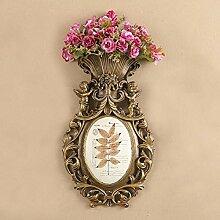 Wand Dekoration Künstliche Blumen Ornament Harz