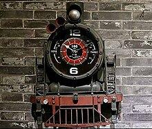 Wand Dekorationen Uhr LOFT Industrial Wind