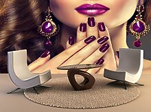 Wand Drucken Poster Luxus Fashion Style Nägel