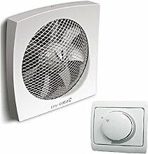 Wand / Fenster / Ventilator / Lüfter / CATA LHV 190 + DREHZAHLREGLER / DIMMER / Hochwertiger Leistung / 700 m³/h / 190 mm / 100% Original Markenqualität von CATA seit 1947
