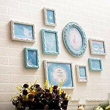 Wand-Fotorahmen-Wandgalerie-Kit, Europäische