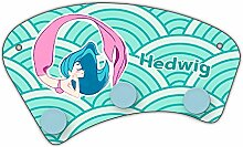 Wand-Garderobe mit Namen Hedwig und schönem Motiv