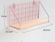 Wand-Gitterregal-Schlafzimmer-Badezimmer-Küche,