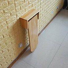 Wand Klapptisch, Holz Farbe Massivholz Stehtisch,