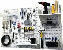 Wand Kontrolle 30-wrk-400wb Standard Werkbank Metall Stecktafel Werkzeug Organizer, 30-WRK-400 WW