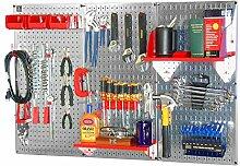 Wand Kontrolle 30-wrk-400wb Standard Werkbank Metall Stecktafel Werkzeug Organizer, 30WRK400GVR