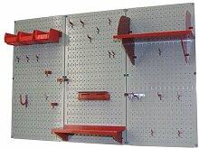 Wand Kontrolle 30-wrk-400wb Standard Werkbank Metall Stecktafel Werkzeug Organizer, 30-WRK-400 GR