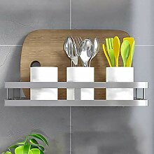 Wand-Küchenregal Regal Edelstahl Gewürz