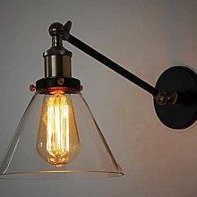 Wand Lampe Glas Modern Creative Bett Schlafzimmer