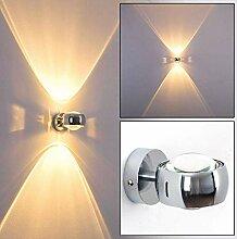 Wand-Lampe Sapri - halbrund Designer-Effektlampe