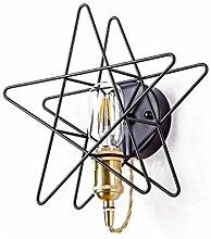 Wand-Lampenschwarz-Eisen-Wandlampe Kinderlampe