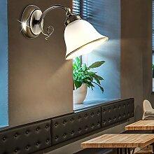 Wand Leuchte Landhaus Stil Beleuchtung Alt Messing