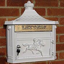 Wand montiert Viktorianischer Stil Briefkasten