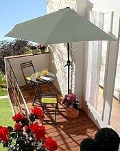 Wand-Sonnenschirm Sonnenschutz (grau)