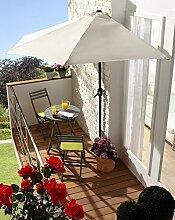 Wand-Sonnenschirm Sonnenschutz (weiß)