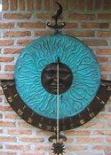 Wand Sonnenuhr aus Bronze HW 0728 BR-V