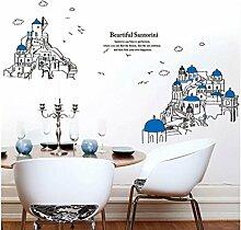 Wand Sticker ostmediterranen Sofalandschaft der Architektur Wandmalerei in Übergröße