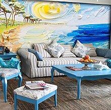Wand Tapete Des Kinderzimmer 3D Für Sofa