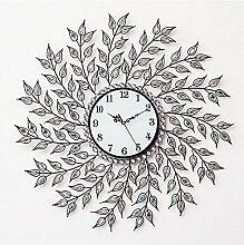 Wand Uhren kreativ Wohnzimmer Zimmer Clock modern minimalistisch Dekoration Mauer Mute Quartz 70 cm