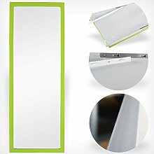 Wand- und Tür Spiegel Wandspiegel Türspiegel Hängespiegel Rahmenspiegel Garderobenspiegel (Grün)