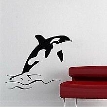 Wand Vinyl Aufkleber Baum Vögel Mit Zweig Natur