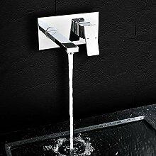 Wand Waschtisch Dusche Wasserhahn YUNRUX