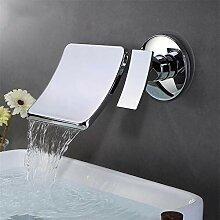 Wand-Wasserhahn, Wasserhahn mit breitem