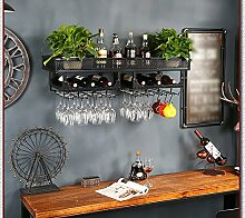 Wand-Weingestell, Flaschengestell, Weinglas-Rack,