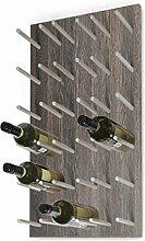 Wand-Weinregal / Flaschenregal System ESTABA für