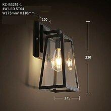 Wandapplikation Industrielle Retro Kreative Lampe
