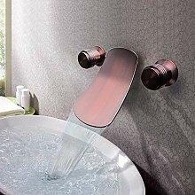 Wandarmatur Bad Waschbecken mit extra breiter