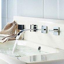 Wandarmatur Wasserhahn Bad Waschtisch Armatur 3