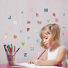 Wandaufkleber 26 Englisch Buchstaben Diy