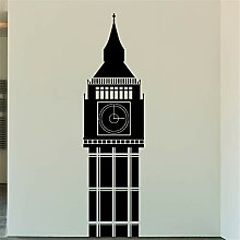 wandaufkleber 3d groß Hoher Turm für Wohnzimmer