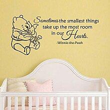 wandaufkleber 3d schmetterling Winnie The Pooh