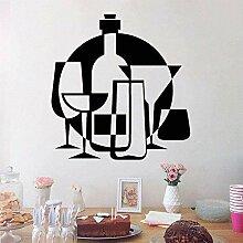Wandaufkleber Abziehbilder Alkohol Drink Bar