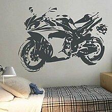 Wandaufkleber Abziehbilder Motorrad Aufkleber