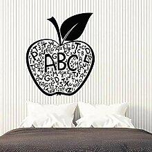 Wandaufkleber Apple brief kreative dekoration